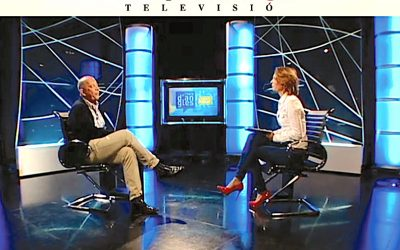 El Punt Avui TV welcomes Dutch philosopher